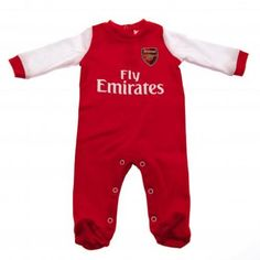 741a2ece0 Arsenal Baby Sleeping Suit - 12 18 Months Arsenal Merchandise