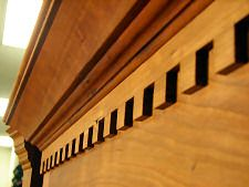 Woodworking Projects | Hand Cut Dentil Molding @ Woodworking News