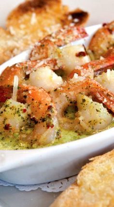 Shrimp Ya-Ya - creamy, spicy, and full of flavor; this Shrimp Ya-Ya is a special treat. Louisiana Recipes, Cajun Recipes, Southern Recipes, Shrimp Recipes, Fish Recipes, Great Recipes, Cooking Recipes, Creole Recipes, Gnocchi Recipes