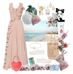 """""""Product of garbage... H&M dress- made out of plastic waste"""" by juliabachmann ❤ liked on Polyvore featuring Global Views, Paddywax, Tory Burch, Les Néréides, Simone Rocha, H&M, D.L. & Co., Herbivore, David Yurman and Yves Saint Laurent"""
