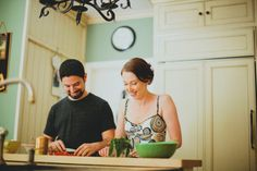 Peter and Kelli Deltondo: This couple will inspire you to spend more time in the kitchen with your partner