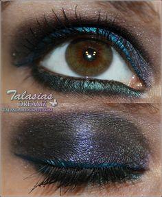 Eye Make Up - Datum: 06.08.2011  http://talasia.blogspot.de/2011/10/mac-semi-precious-nachzugler-amu.html