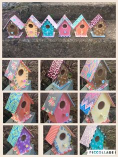 A personal favourite from my Etsy shop https://www.etsy.com/uk/listing/472604164/funky-little-birdhouses