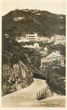 HILLSIDE VIEW, HONG KONG.