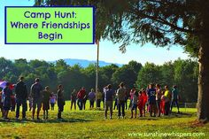 Camp Hunt- Where Friendships Begin - Sunshine Whispers  http://www.sunshinewhispers.com/2015/07/camp-hunt-where-friendships-begin/