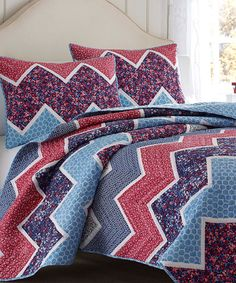 Love this Blue Ainsley Quilt by Laura Ashley Home on #zulily! #zulilyfinds