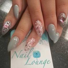 #ShareIG Jewelgasm x Nailgasm by @monikbueno #nails #nailart #nailbar #naillounge