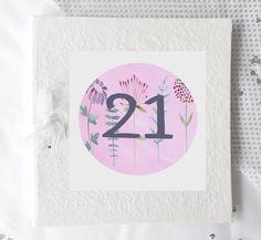 21st Birthday Album, Personalised Photo Album, 21st Birthday gift, Personalised 21st Gifts, Petal by TigerlilyprintsLtd on Etsy