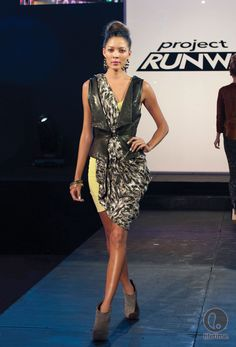 Sonjia Williams Project Runway, Season 10 Episode 1