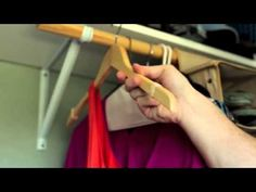 Create No-Slip Hangers With Rubber Bands. Part of the series: #eHowHacks: Home & Garden. Hey, clothing hangers! You have one job. If your hangers can't hang with the best of 'em, slip into the comfort of #eHowHacks for the solution.   Read more: http://www.ehow.com/video_12340675_create-noslip-hangers-rubber-bands.html
