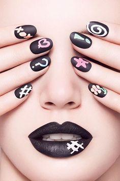 Cool Matte Nail Art Designs Idea