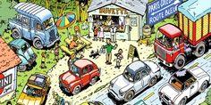 La Nationale 7, héros de BD pour Thierry Dubois