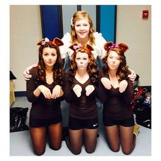 Goldilocks and the Three Bears: Gather up four people and relive this fairy tale for Halloween.