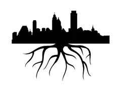Philadelphia Home Grown City Skyline by DecalPhanatics on Etsy, $1.99