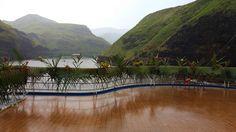 Pool deck decorated for the Polynesian night. #Aranui #Marquesas #adventure