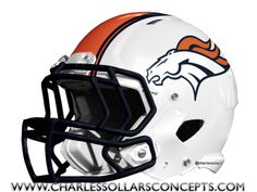Charles Sollars Concepts @Charles Sollars @Charles Sollars http://www.charlessollarsconcepts.com/denver-broncos-white-helmet-concepts/ #broncos #denver #nike #nfl