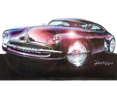 Holden Efijy Concept, Richard Ferlazzo's sketches began in 1989 and were finalized in 2002.