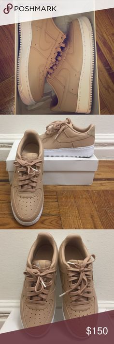 Nike Lab Air Force 1 Low Vachetta Tan Worn only one time. Perfect condition. Box is a little bit dented. Premium leather and the color is very cute. These are very limited and hard to find. Nike Shoes Sneakers