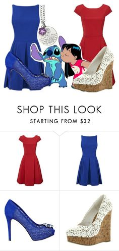 """Lilo and Stitch"" by basic-disney ❤ liked on Polyvore featuring Phase Eight, GUESS and Disney"