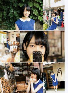 yic17: Hori Miona (Nogizaka46) | ENTAME 2016.08... | 日々是遊楽也
