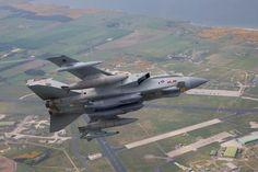 RAF Panavia Tornado GR4 with Stormshadow. Sept 2008.