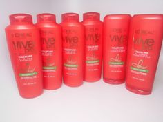 L'Oreal Vive Pro Hi Gloss Highlighted Hair 4 Shampoo 2 Conditioner  #LOreal