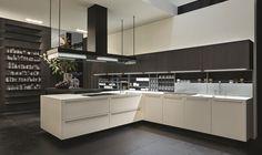 Poliform|Varenna _ Twelve Handle kitchen