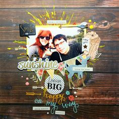 El scrap de Barma: Layout -My sunshine