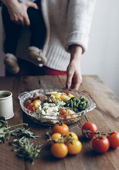 Seafood Recipes, Gourmet Recipes, Healthy Recipes, Healthy Detox, Healthy Eating, Healthy Food, Savory Salads, Nicoise, Quinoa Salad Recipes