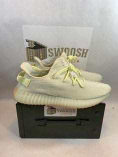 7ffc82f35a139f Details about Adidas Yeezy Boost 350 V2 Kanye Butter F36980 men s shoes  sneaker sz 13