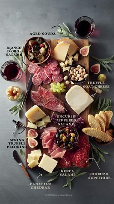 Charcuterie Recipes, Charcuterie And Cheese Board, Charcuterie Platter, Antipasto Platter, Meat Platter, Cheese Boards, Charcuterie Wedding, Meat Cheese Platters, Cheese Platter Board