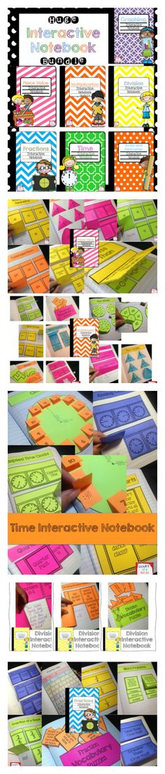 This huge bundle includes tools for interactive notebooks and 7 of my math interactive notebook files! Each notebook includes a plethora of activities that are perfect for differentiating.