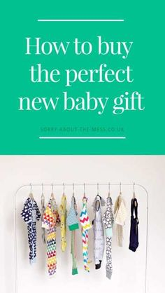 How to buy the perfect new baby gift. Friend having a baby? Read to discover meaningful and useful new baby present ideas #babygifts #babypresents #newbaby #pregnancy