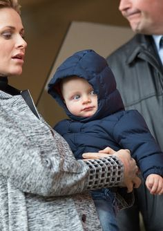 Monaco Princely Family - Princess Charlene and Prince Jacques of Monaco attend the 6th Sainte Devote Rugby Tournament at Stade Louis
