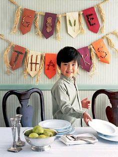 Thanksgiving Banner Craft