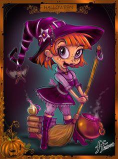 Pepper The Witch by 14-bis.deviantart.com on @deviantART