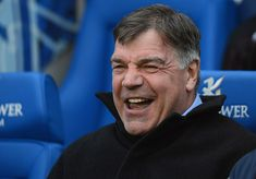 LEICESTER, ENGLAND - APRIL 23: West Ham manager Sam Allardyce laughs before the npower Championship match between Leicester City and West Ham United at The King Power Stadium on April 23, 2012 in Leicester, England. (Photo by Michael Regan/Getty Images)