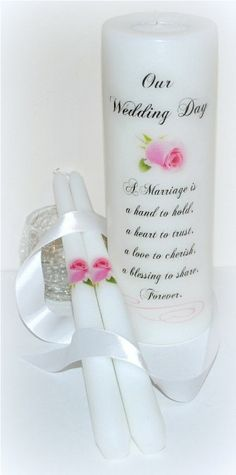 Wedding Unity Candle wedding candles by DesignsbyDMCandles on Etsy