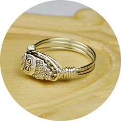 Sterling Silver Owl ring!