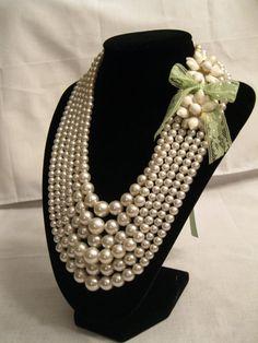 Vintage jewelry I refashioned:)