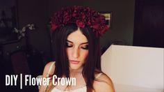 DIY   Flower Crown (Lana Del Rey Inspired)