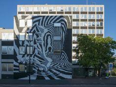 https://flic.kr/p/Mq6J11 | Gevelkunst Stadskantoor, Dordrecht - Bier en brood | Afgelopen zaterdag 24-09-2016 is door kunstenaars van het straatkunstproject Iconoclash aan twee gevels van het Stadskantoor te Dordrecht gevelkunst aangebracht. Althans het laatste stuk. Het resultaat mag er zijn! De opdracht; Geef een gebeurtenis weer, in Dordrecht, dat plaatsvond na de beeldenstorm.