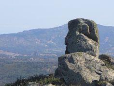 Roccia antropomorfa - Il guardiano di Monte Limpas - Tempio Pausania