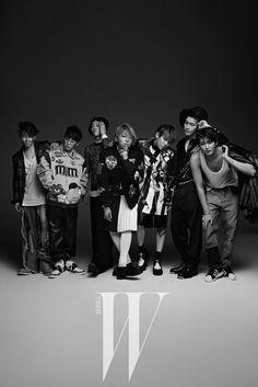 2015.01, W, Block B, U-Kwon, Taeil, P.O., Zico, Park Kyung, B-Bomb, Jaehyo