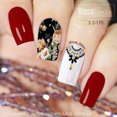 Wow Nails, Cute Nails, Cute Nail Designs, Nail Polish Colors, Winter Nails, Nails Inspiration, Arts And Crafts, Makeup, How To Make