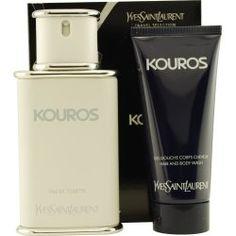Yves Saint Laurent Kouros Men Giftset (Eau De Toilette Spray, Hair and Body Wash) - http://www.theperfume.org/yves-saint-laurent-kouros-men-giftset-eau-de-toilette-spray-hair-and-body-wash/