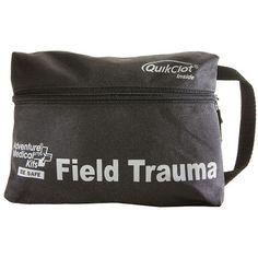 Field Trauma Hiking First Aid Kit with QuickClot