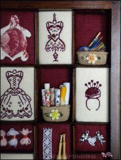 Mariasun y sus Ideas: Cajón imprenta_mas miniaturas