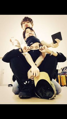 with hobie hyung <3