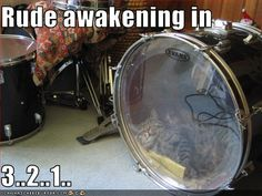 Cat-drum? Not going to be happy, but at least it's any Evans Drumhead. We carry those. #interstatemusic #musician #drummer